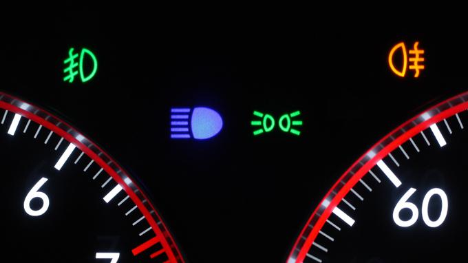 車の表示灯